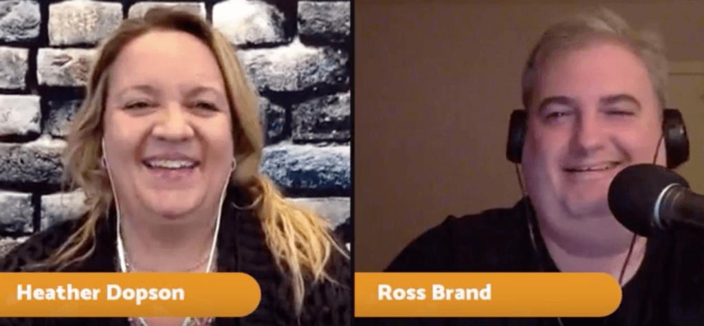 Heather Dopson GoDaddy Ross Brand Livestream Universe Stars