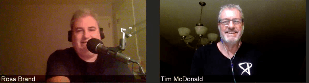 Ross Brand Tim McDonald Livestream Universe