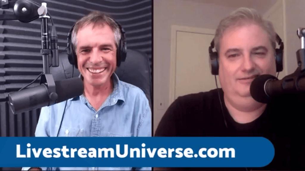 Mike Murphy Ross Brand Livestream Universe Stars