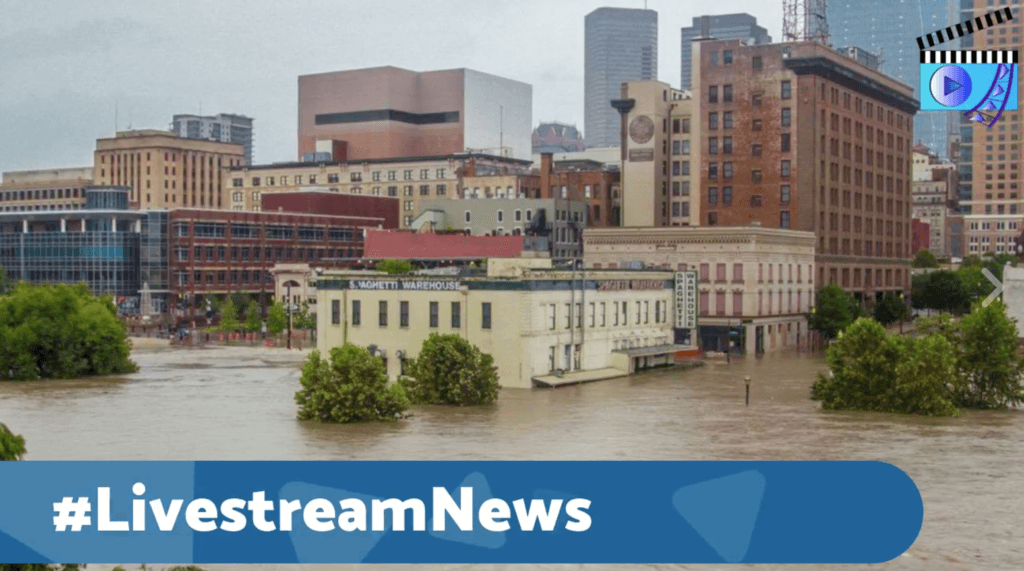 Hurricane Harvey Livestream Universe News