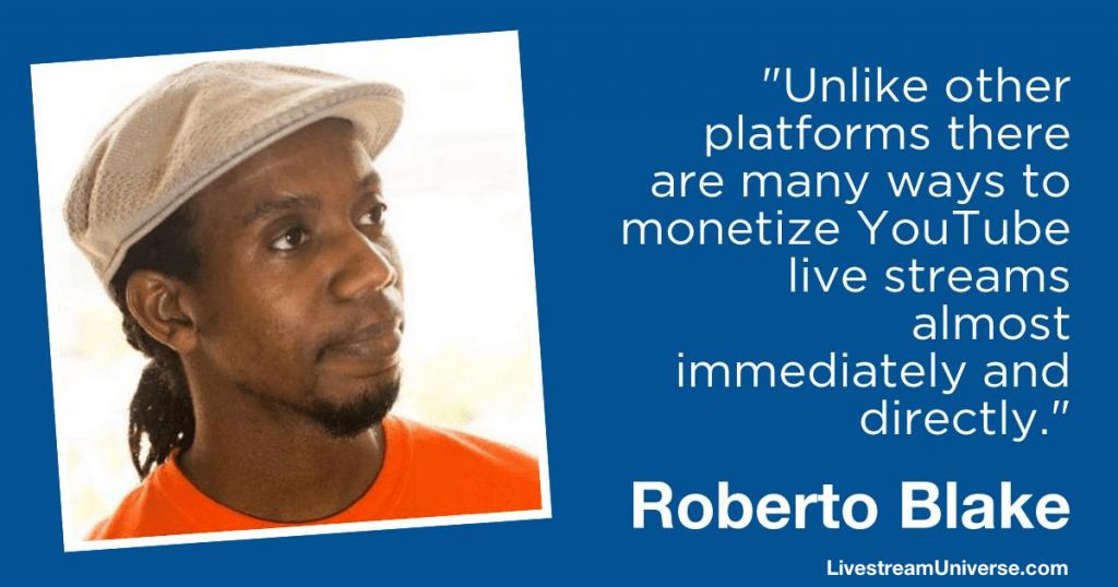 Roberto Blake Livestream Universe 2018
