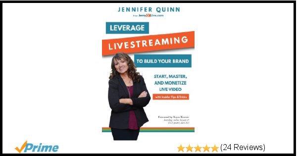 Jennifer Quinn Leverage Livestreaming Book