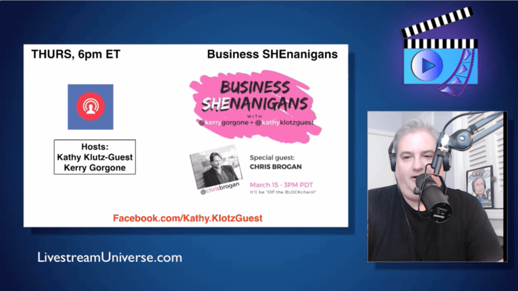 Kathy Klotz Guest Chris Brogan Ross Brand