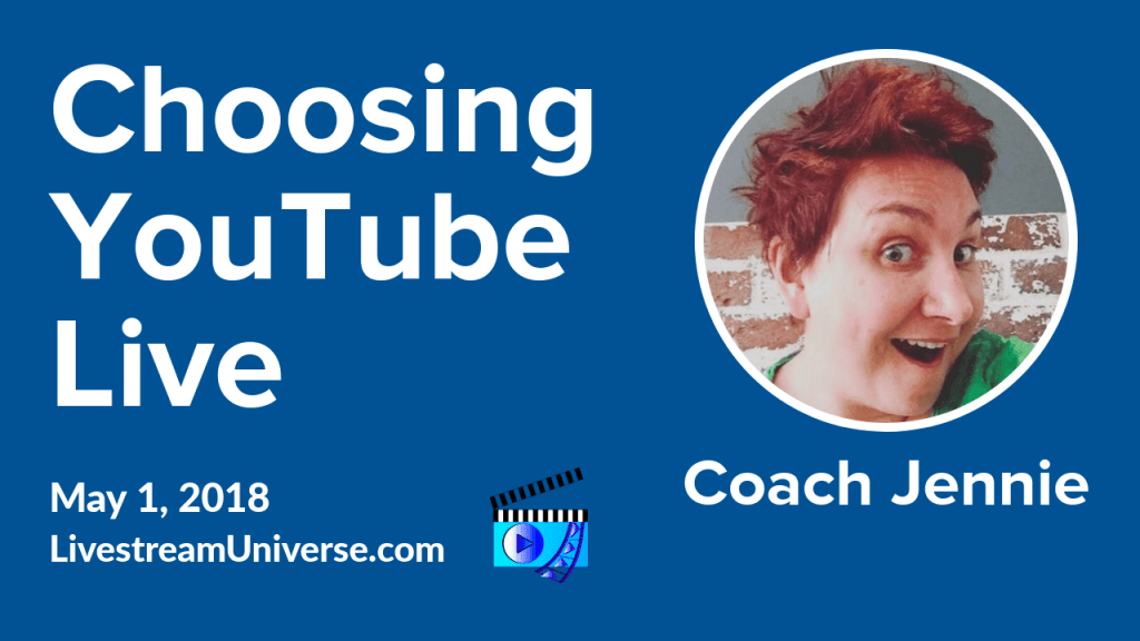 Coach Jennie Hilda YouTube Live
