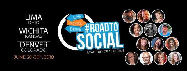 #RoadtoSocial