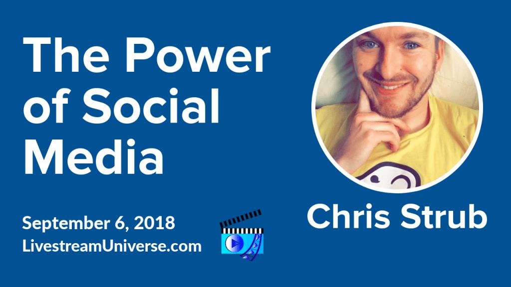 chris strub social media