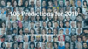 2019 Predictions livestream universe