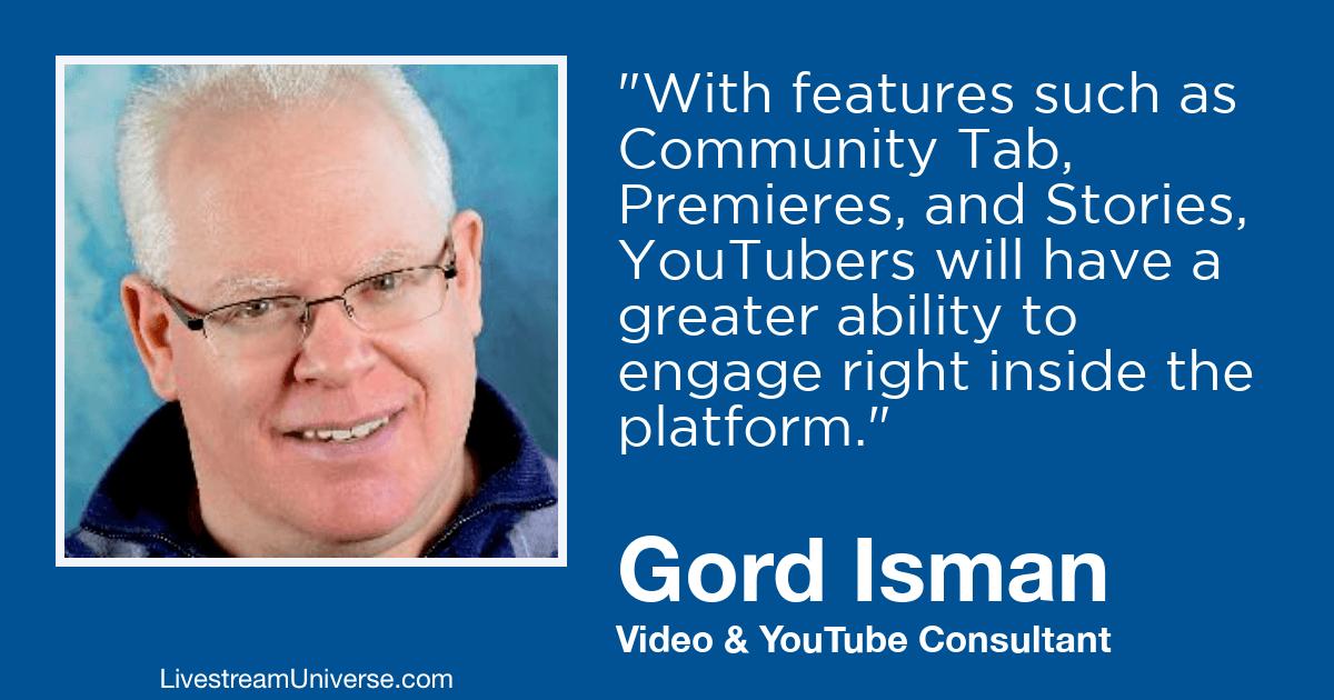 Gord Isman livestream universe 2019 predictions