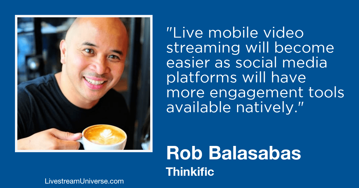 Rob Balasabas Thinkific 2019 Prediction