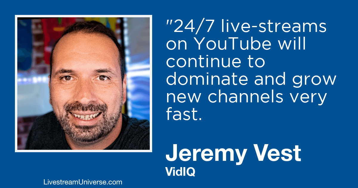 jeremy vest vidiq 2019 predictions livestream universe