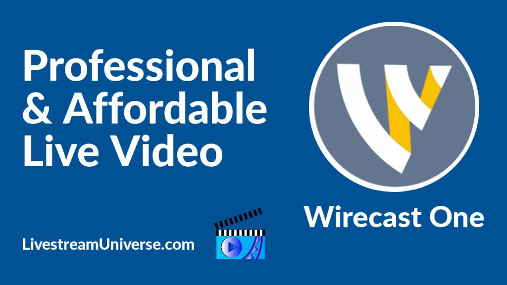 Wirecast One