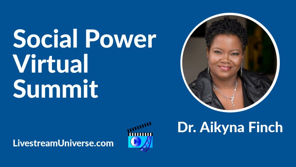 aikyna finch social power summit