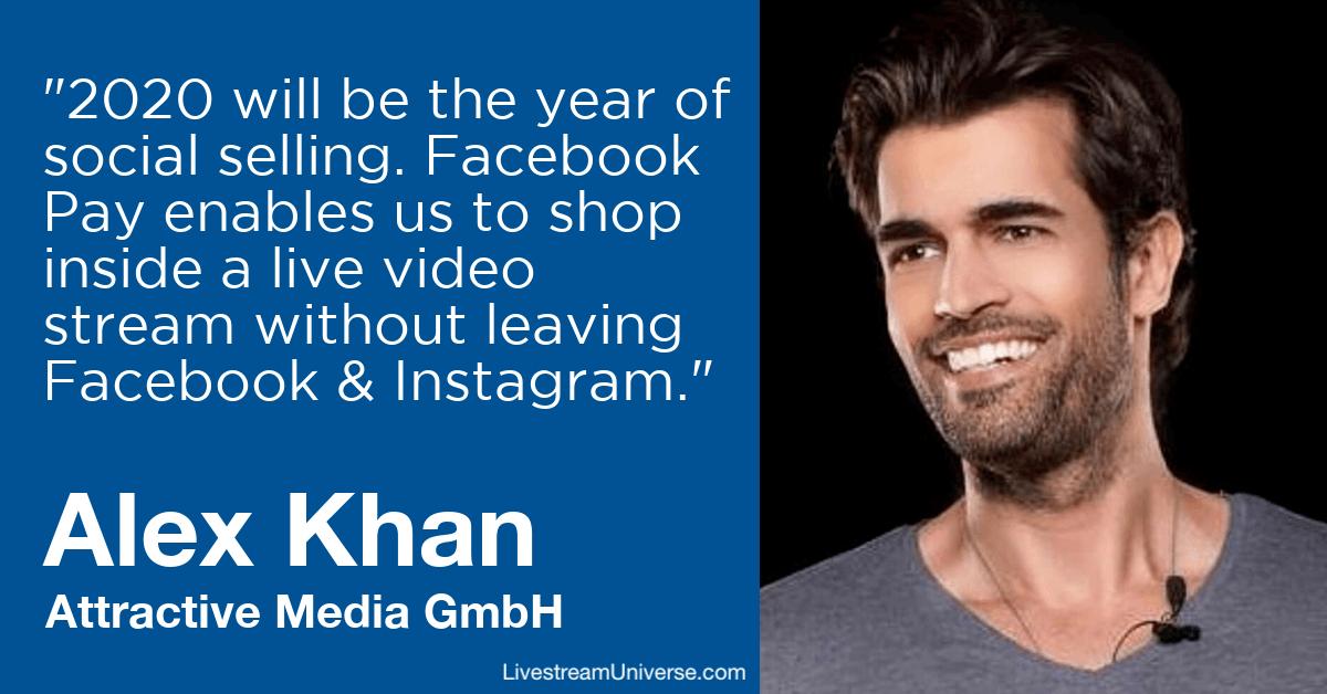 Alex Khan Attractive Media livestream universe predictions 2020