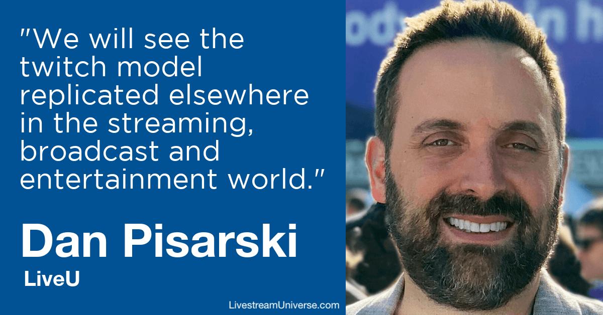 Dan Pisarski LiveU livestream universe predictions 2020
