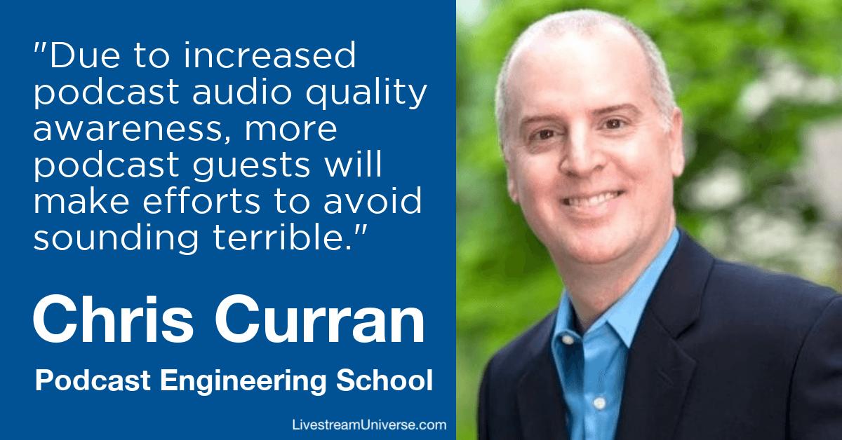 chris curran podcast engineering school prediction 2020