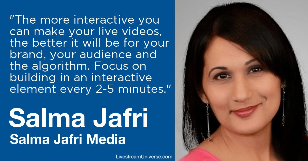 salma jafri media livestream universe predictions 2020