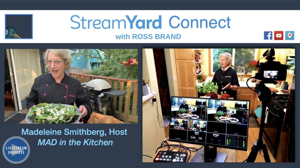 SYC ep 60 MAD in the Kitchen Madeleine smithberg streamyard connect