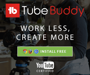 Ross Brand TubeBuddy Livestream Universe