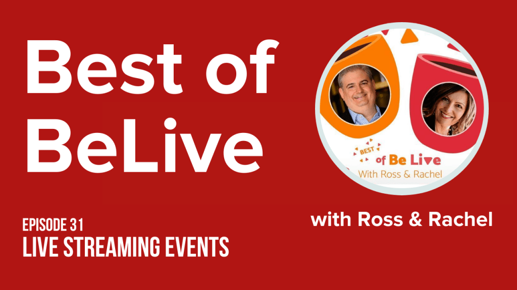 best of belive with ross brand and rachel moore ep31 live streaming events