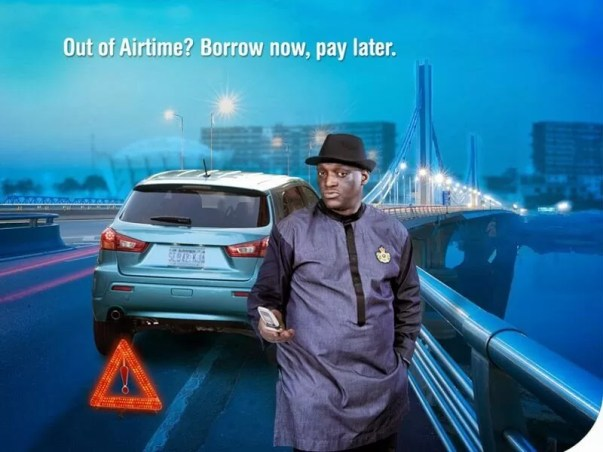 Borrow Airtime from MTN, Glo, Etisalat and Airtel