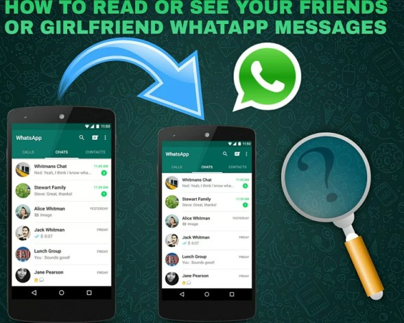 Read Lovers Whatsapp Messages From Your Phone