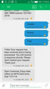 May 2018 Browsing Cheat: How to Activate MTN Double Data Offer