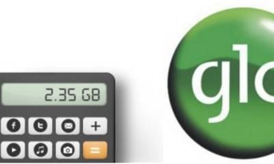Glo Data Calculator