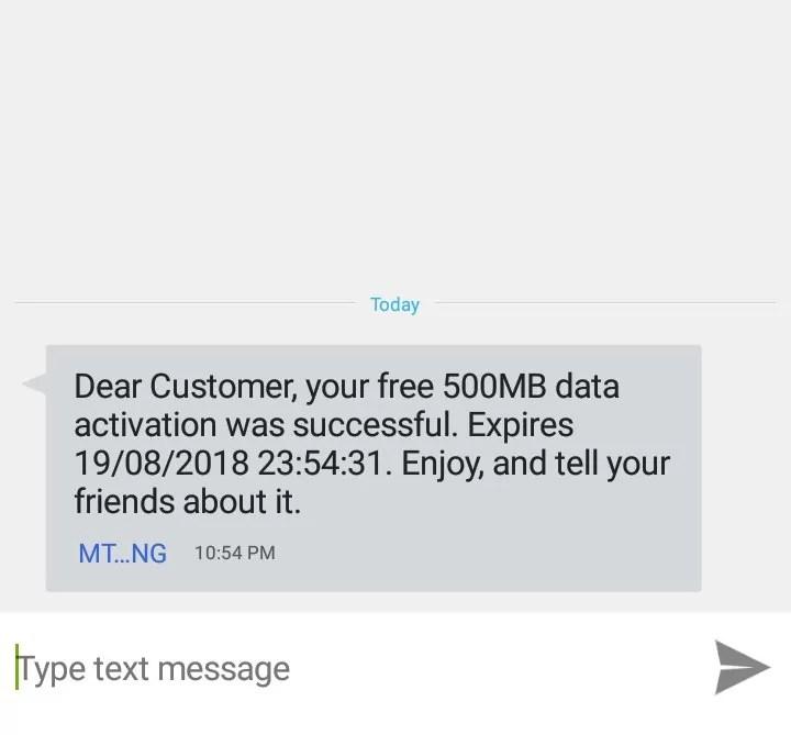 How to Get Free MTN 500MB Data Bonus in October 2018