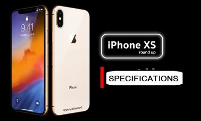 Apple iPhone XS Complete Specifications and Price in Nigeria