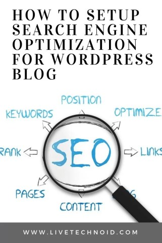 How to Setup Search Engine Optimization for WordPress Blog