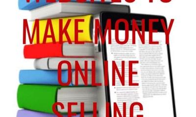 4 Best Websites to Make Money Online Selling EBooks