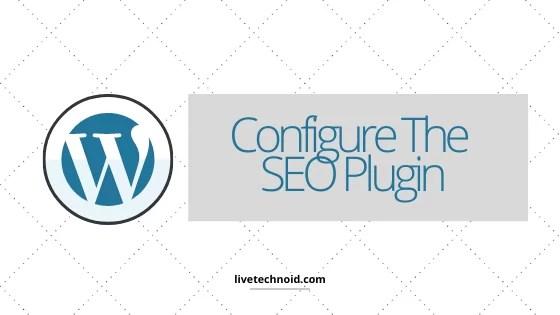 Configure The SEO Plugin