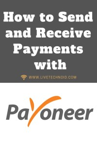 How to Send and Receive Payments with Payoneer