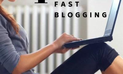 how to make money online fast blogging