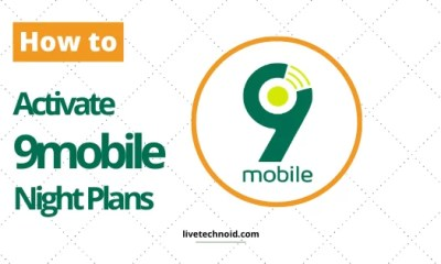 How to Activate 9mobile Night Plans