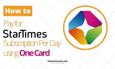 How to Pay for Startimes Subscription Per Day using One Card