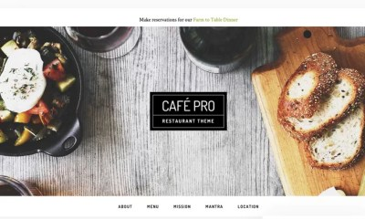 Download Cafe Pro v1.0.5 Genesis Child Restaurant Theme