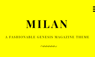 Download Milan Pro v1.1.0 Genesis Child Magazine Theme
