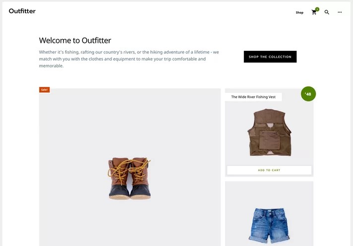 Download Outfitter Pro v1.0.2 Genesis Child eCommerce Theme