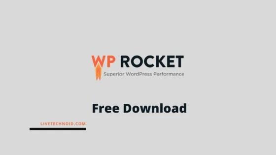 WP Rocket v3.9.0.3 WordPress Premium Cache Plugin Free Download