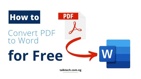 How to Convert Documents from PDF to Word Format for Free