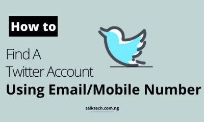 How to Find A Twitter Account Using Email or Mobile Number