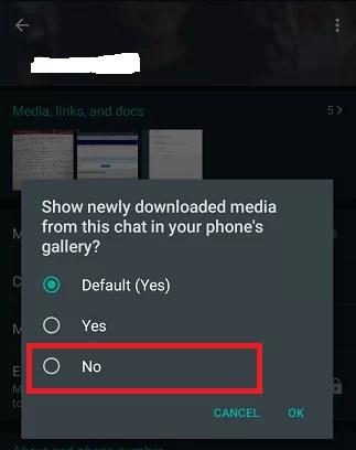 Select No