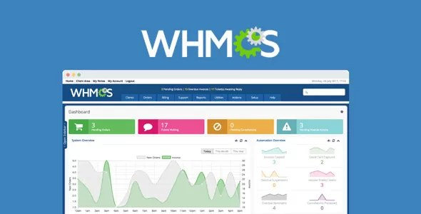 Download WHMCS v7.10.2 Premium WordPress Web Hosting Theme
