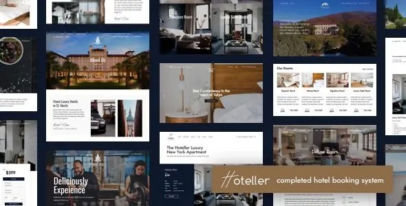 Download Hoteller v4.3 Premium WordPress Hotel Booking Theme