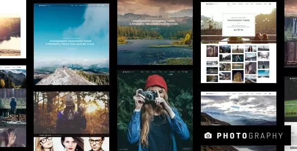 Download Photography 6.4.1 Responsive WordPress Photography Theme
