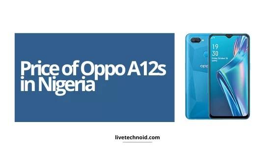Oppo A12s Price in Nigeria