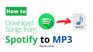 How to Download Songs from Spotify to MP3