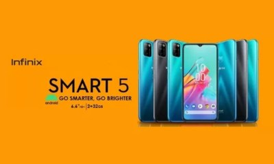 Infinix Smart 5 Full Specifications and Price