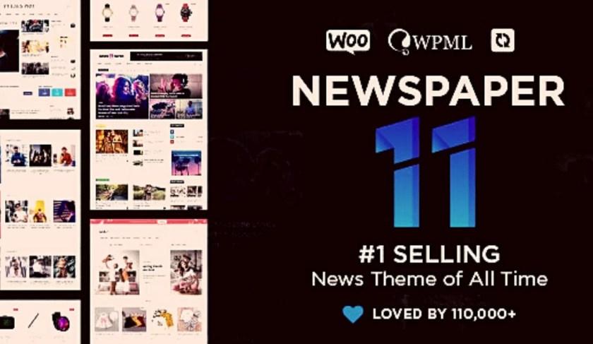Newspaper v11.1 WordPress Theme Free Download